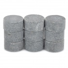 Granite Round Stone - Grey (9 PCS)