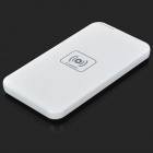 Wireless 5000mAh Mobile Phone Power Charger - White (100~240V)