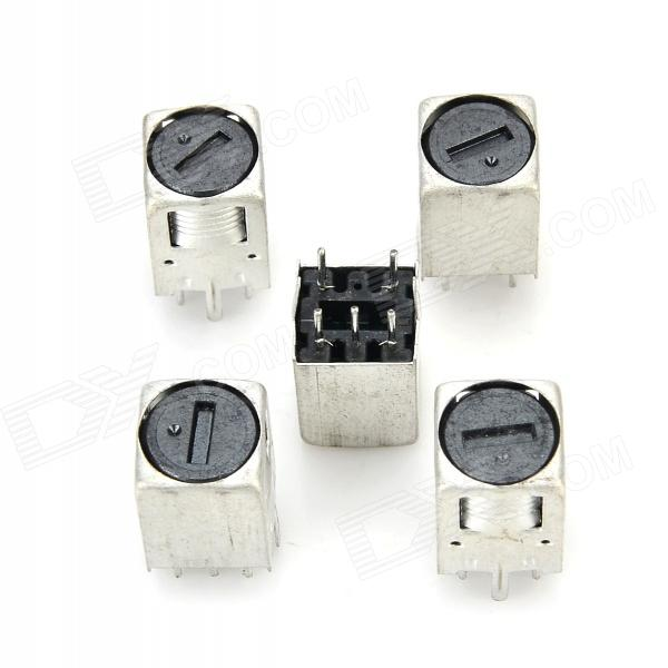 Lson A1M1 onda ultra-sônica Radar Ranging Impulsionar Transformer - prata (5 PCS)