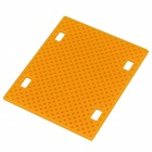 D01 DIY Replacement Plastic Underpan for Model Vehicle - Yellow