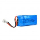 3.7C 25C 500mAh Li-ion Battery for Model Helicopter - Blue