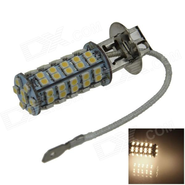 H3 4W 220lm 68-SMD 1210 LED Warm White Light Car Foglight / Headlamp / Tail Light (12V)