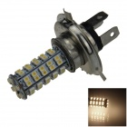 H4 4W 220lm 68-SMD 1210 LED Warm White Light Car Foglight / Headlamp / Tail Light (12V)