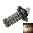 H7 4W 220LM 68-SMD 1210 LED Warm White Car Light Foglight / Farol / Luz Traseira (12V)
