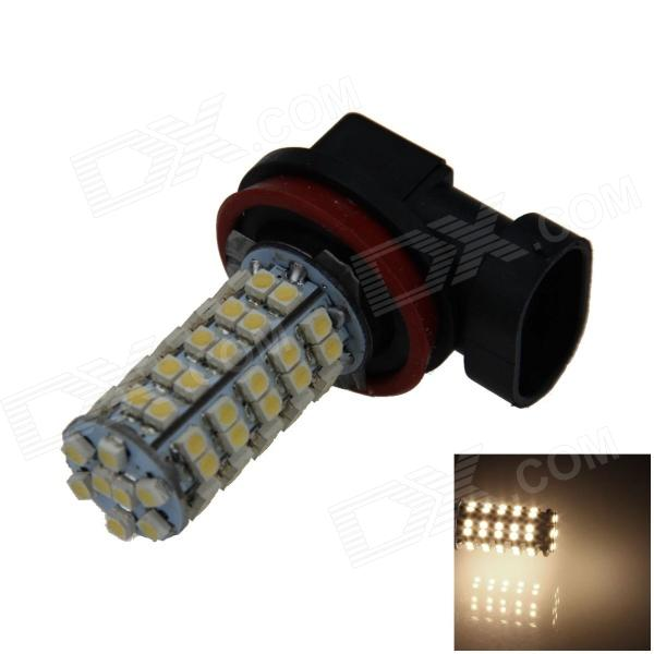 H11 4W 220lm 68-SMD 1210 LED Warm White Light Car Foglight / Headlamp / Tail Light (12V) h1 4w 220lm 68 smd 1210 led warm white light car foglight headlamp tail light 12v