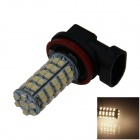 H11 4W 220lm 68-SMD 1210 LED Warm White Light Car Foglight / Headlamp / Tail Light (12V)