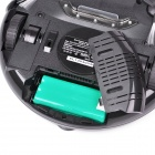 Cleanmate K6L Portable Smart Automatic Vacuum Cleaner Side Brush w/ Flashing LED - Black + Silver