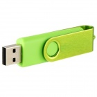 4GB rotatable OTG USB Flash Drive para celular / Tablet PCs - verde