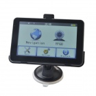 "Edaohang PE09 5"" Touch Screen LCD WinCE 6.0 GPS Navigator w/  FM / 8GB - Black + Sliver"
