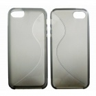 S-Line Style Protective Anti Slip TPU Soft Back Case for IPHONE 5 / 5S