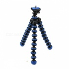 "2-in-1 6.5"" Octopus Tripod for Digital Camera / Phone - Black + Blue"