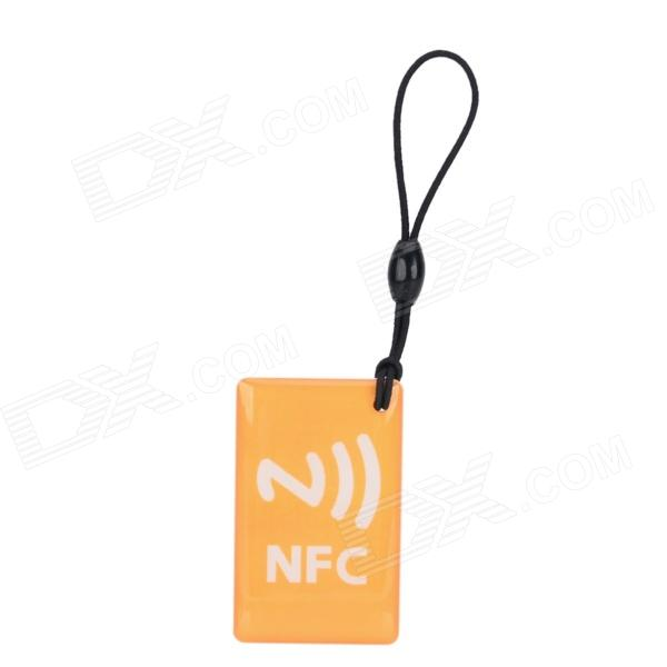 Ntag 203 Chip NFC Smart Tag - Yellow
