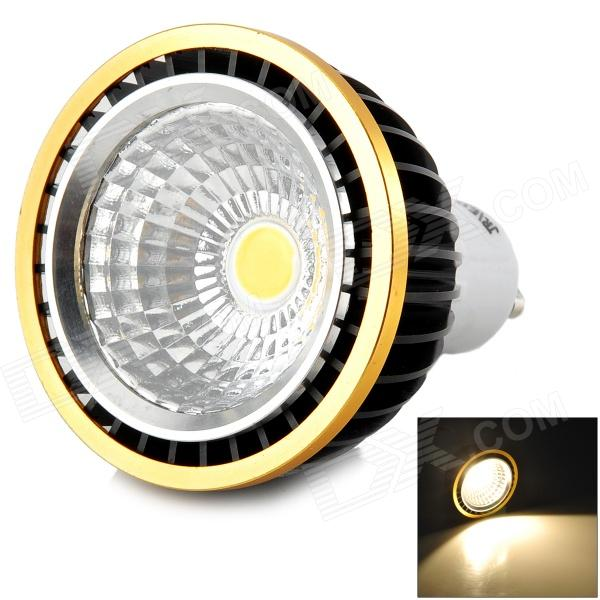 JRLED GU10 5W 350LM 3300K Warm White COB Spotlight - White + Black