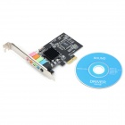 DIEWU DW-PCIe&CH6 Stereo Sound Card Adapter - Black