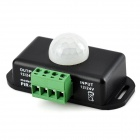 B-PIR-08 Mini 120' Time / Distance Adjustable Infrared Sensors Inductive Switch - Black
