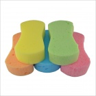 Car Colored Cotton Cleaning Sponge Pad (5 PCS)