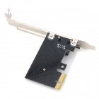 DIEWU DW8111C-S 1000Mbps PCI-E Gigabit LAN adapter for Desktop - Black Grey