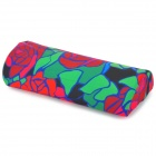 Flowers Pattern Long Nail Care Special Hand Pillow - Red + Green + Black