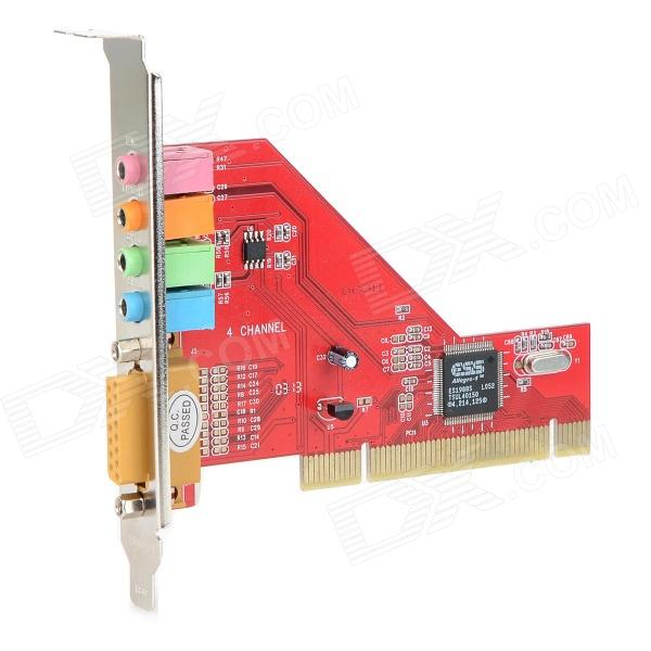 DIEWU PCI-ESS4CH PCI Sound Card for Desktop Computer