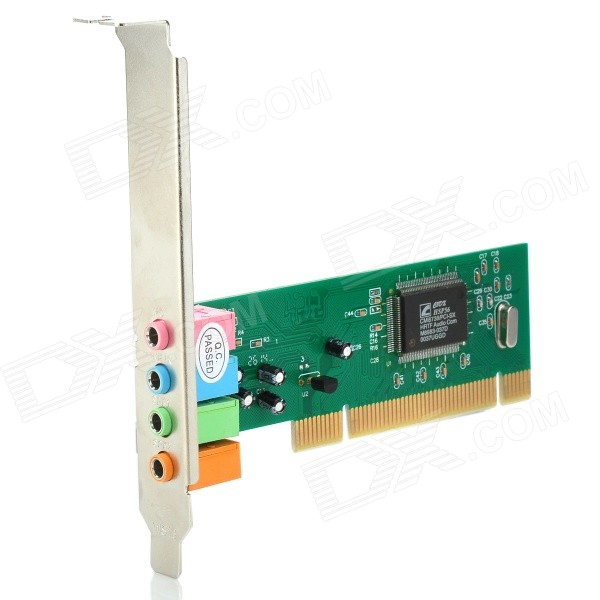 DIEWU PCI-CMI4CH-S 4-CH PCI Sound Card for Desktop Computer