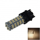 3157 / 3156 3W 250lm 68-SMD 3528 LED Warm White Car Steering / Brake / Backup / Tail Lamp (12V)