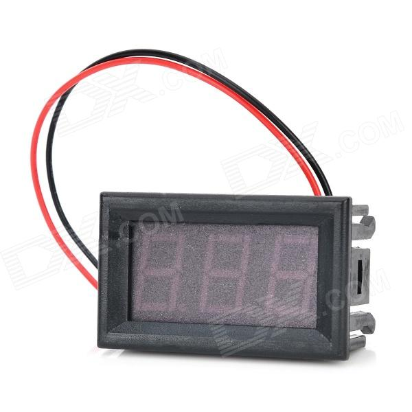 DC 2.4~30V Digital Voltmeter w/ Fine Adjustment / Reverse ProtectionLCD, LED Display Module<br>ColorOthers,BrandN/AModelSJ-DC056V-AQuantity1 PieceMaterialFiber glass plate + plastic + electronic componentsEnglish Manual / SpecNoPacking List1 x Digital voltmeter<br>