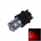 3157/3156 2.5W 250lm 13-SMD 5050 Red Light Car LED directivo / Freno / Copia de seguridad / cola de la lámpara (12V)