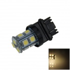 3157 / 3156 2.5W 250lm 13-SMD 5050 LED Warm White Light Car Steering / Brake / Backup Lamp (12V)