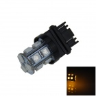 3157 / 3156 2.5W 250lm 13-SMD 5050 LED Yellow Light Car Steering / Brake / Backup Lamp (12V)