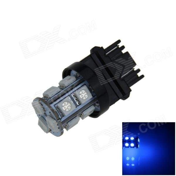 3157 / 3156 2.5W 250lm 13-SMD 5050 LED Blue Light Car Steering / Brake / Backup / Tail Lamp (12V)