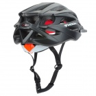 MOON MV29 Casual Outdoor Cycling Bike Helmet - Black + Red (Size L)