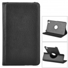 360 Degree Rotary Protective Flip Open Case w/ Stand for 8.4'' Samsung T320 Galaxy Tab Pro - Black