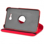 Protective Plastic + PU Flip Open Case w/ 360 Degree Rotary Stand for Samsung Galaxy Tab 3 Lite T110