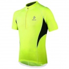 ARSUXEO AR665 Polyester Cycling Short-sleeves Top - Fluorescent Green (Size L)