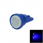 T10 / 2528 / W5W 1W 80lm 1-COB LED Blue Car Instrument lamp / Side / Instrument Light (12V)