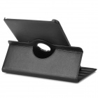 360° Rotary Protective PU Flip Open Case w/ Stand for 12.2'' Samsung Galaxy Note Pro P900 - Black