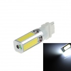 HJ-037 3156 24W 5000K 900lm 4 COB LED White Light Car Farol (10 ~ 30V)