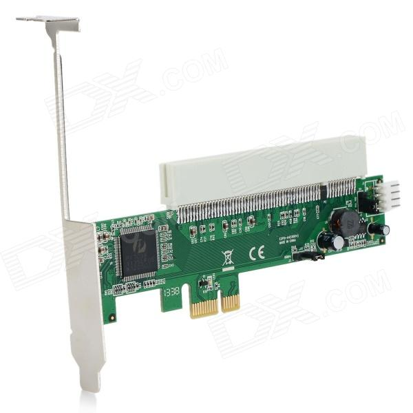 PCI-E / PCI-Express to PCI Adapter Card - Green + White c 程序设计(附光盘1张)