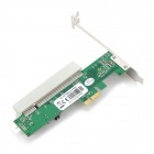 PCI-E / PCI-Express to PCI Adapter Card - Green + White