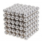4.7~5mm Neodymium NIB Magnet Spheres with Steel Case - Silver (216-Piece Pack)
