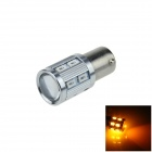 1156 / BA15S 11W 450lm 12-SMD 5630 LED + 1-Cree Yellow Car Backup / Steering Light (12~24V)