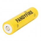 FANDYFIRE 3.7V 2400mAh 18650 Li-ion Protected Rechargeable Batteries (2 PCS)