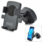 Universal Car Mount Holder Cell Phone w / Ventosa - Preto