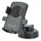 Universal Car Mount Cell Phone Holder w/ Suction Cup - Black