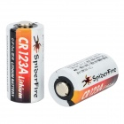 CR123A 3V 16340 1300mAh Li-ion - multicolor