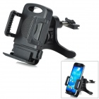 Universal 360 Degree Rotational Car Mount Cell Phone Holder - Black