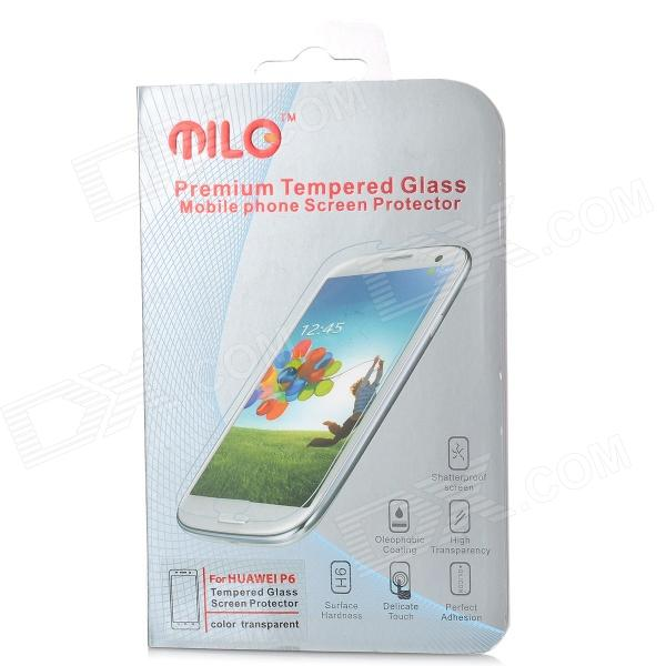 MILO Clear AGC Tempered Glass Screen Protector Guard Film for HuaWei Ascend P6 - Transparent linde forklift lindos truck diagnostic software