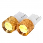 XingYiTong T10 1.5W 150lm LED White Light Car Steering Light / Decoration Light - (DC 15V / 2 PCS)