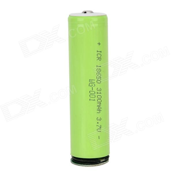 LSON ICR 3.7V 2800mAh 18650 Rechargeable Battery - Green yes yes relayer cd dvd