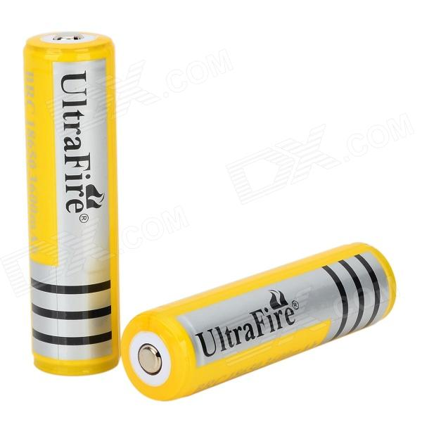 UltraFire XL-10 3.7V 2200mAh 18650 Rechargeable Batteries (2 PCS) yes yes relayer cd dvd